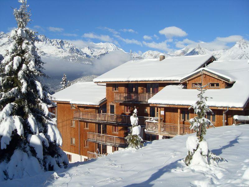 Vue extérieure de la location Location Appartement 73056 Valfréjus
