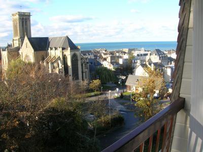 Vue depuis la location Location Studio 73386 Villers sur Mer