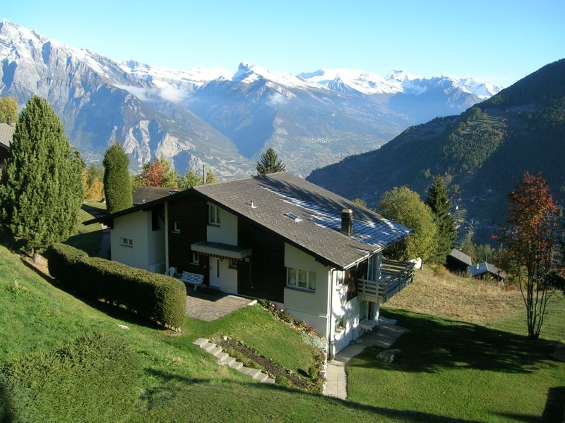 Vue depuis la location Location Appartement 74081 La Tzoumaz