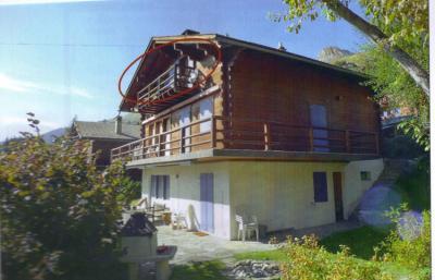 Vue ext�rieure de la location Location Appartement 74589 Verbier