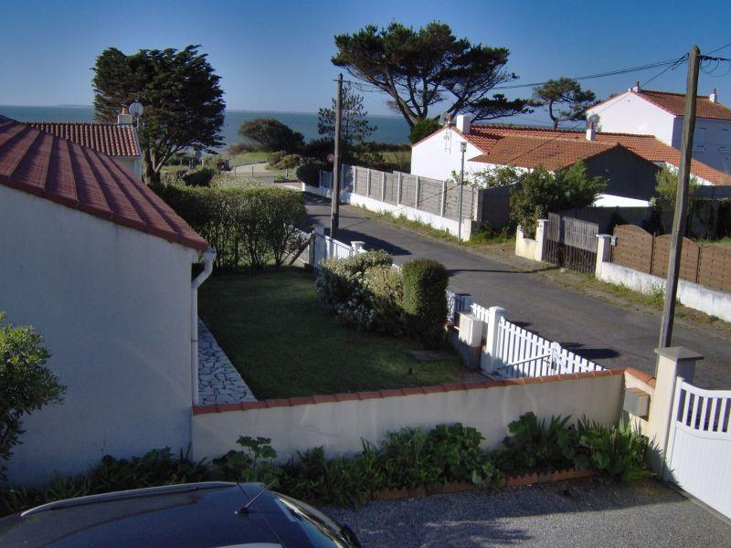 Vue de la terrasse Location Maison 76798 Pornic