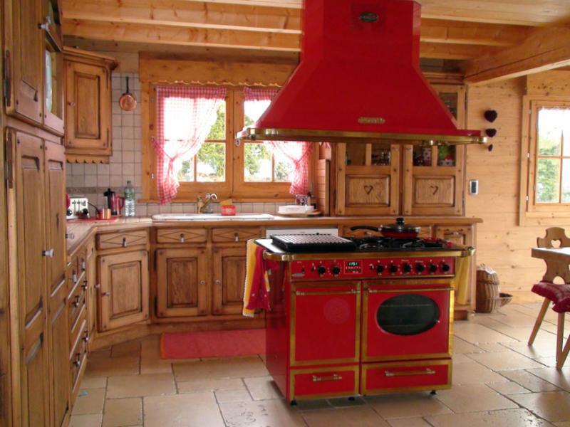 Cuisine américaine Location Chalet 80673 Saint-Gervais-les-Bains