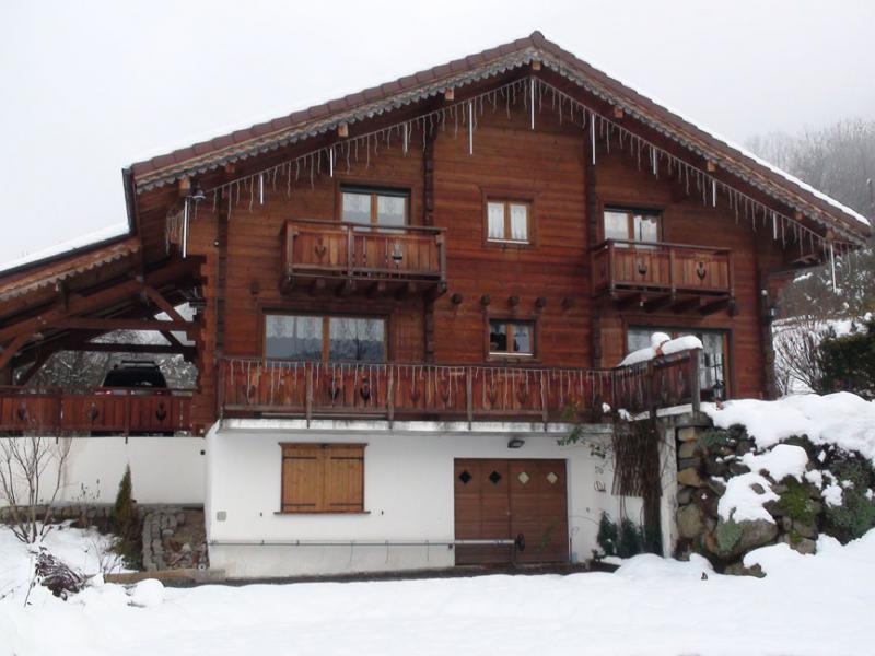 Vue extérieure de la location Location Chalet 80673 Saint-Gervais-les-Bains