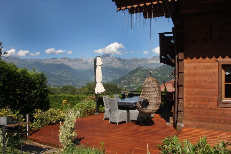 Terrasse Location Chalet 80673 Saint-Gervais-les-Bains