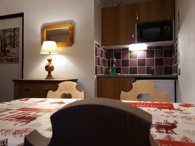 Coin cuisine Location Appartement 91167 Les Menuires