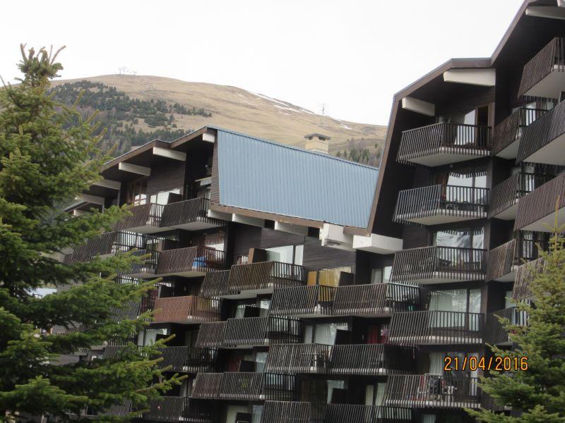 Vue extérieure de la location Location Appartement 91727 Les 2 Alpes