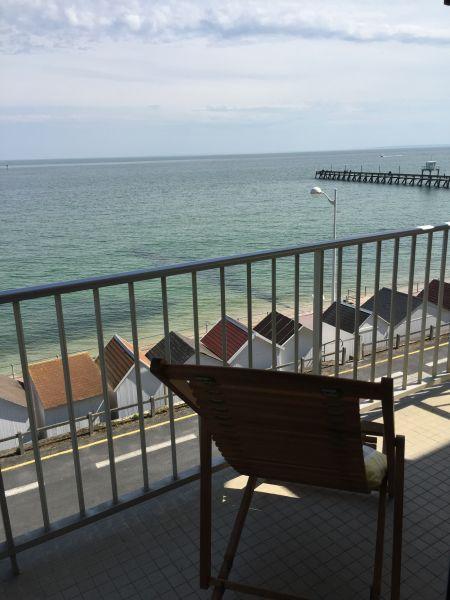 Vue du balcon Location Appartement 92826 Luc sur Mer