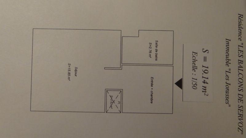 Plan de la location Location Studio 93266 Chamonix Mont-Blanc