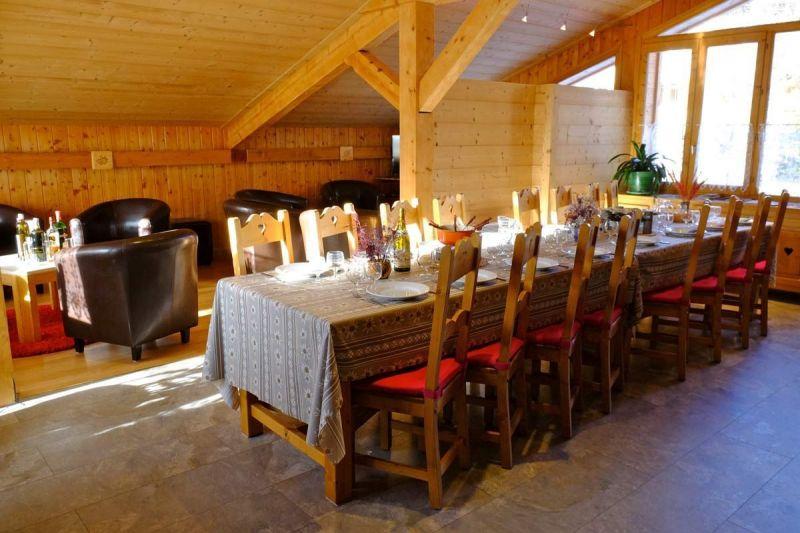 Salle à manger Location Chalet 93861 Les 2 Alpes