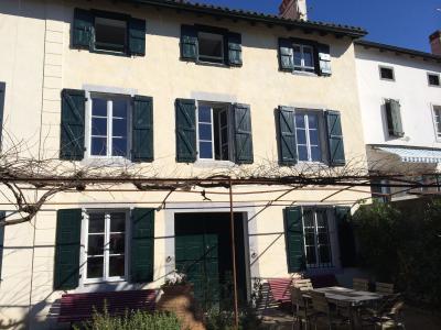 Vue de la terrasse Location Maison 95330 Espelette