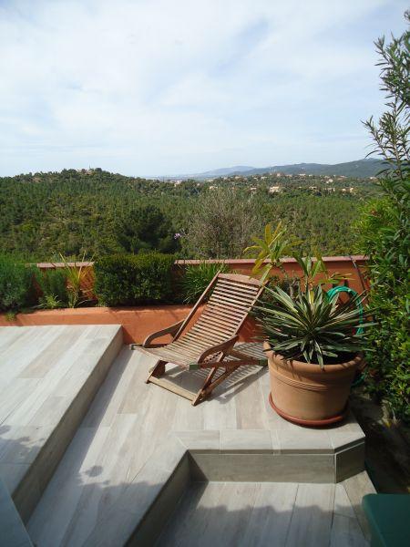 Vue depuis la location Location Maison 100590 La Londe les Maures