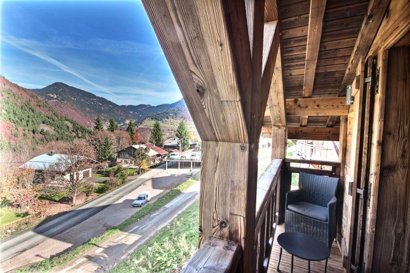 Vue du balcon Location Chalet 100964 Saint Jean d'Aulps- La Grande Terche