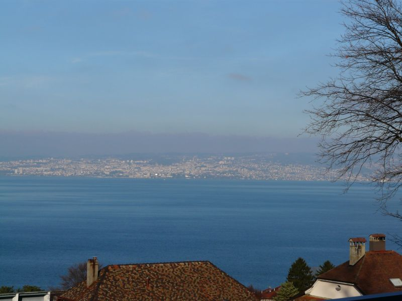 Vue de la terrasse Location Appartement 102399 Evian les Bains
