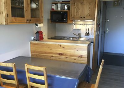 Coin cuisine Location Appartement 102524 Les Menuires