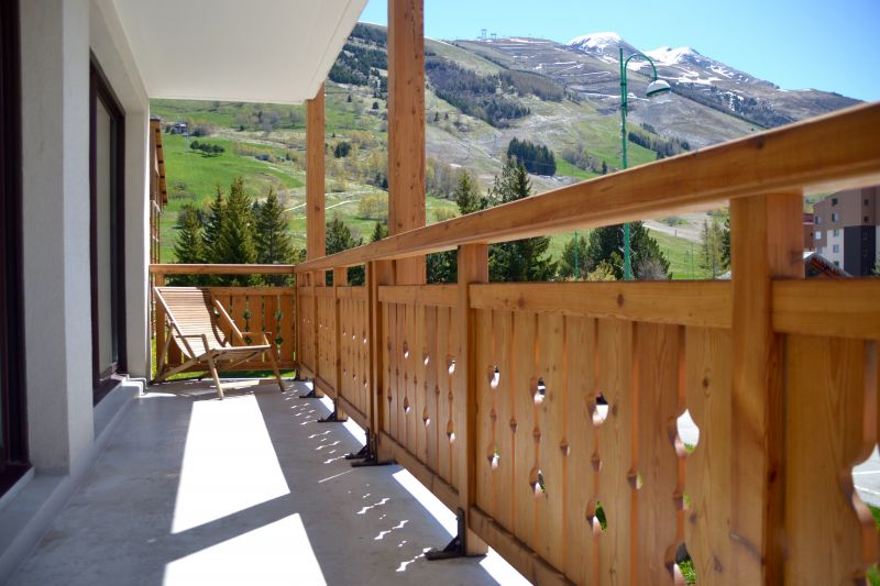 Balcon 2 Location Appartement 105180 Les 2 Alpes