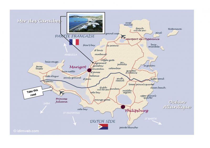 Carte Location Studio 108428 Marigot