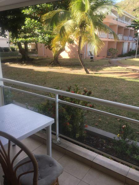 Vue du balcon Location Studio 108428 Marigot