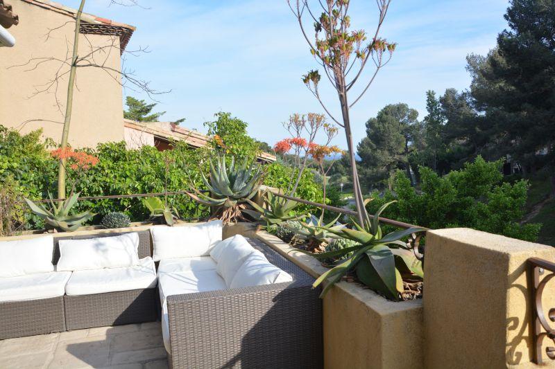 Vue de la terrasse Location Villa 110191 Carry le Rouet