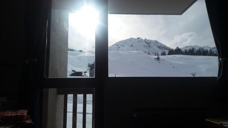 Vue depuis la location Location Studio 111721 La Plagne