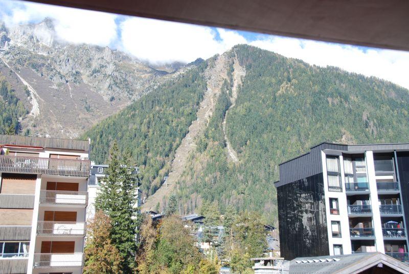 Vue depuis la location Location Appartement 112088 Chamonix Mont-Blanc