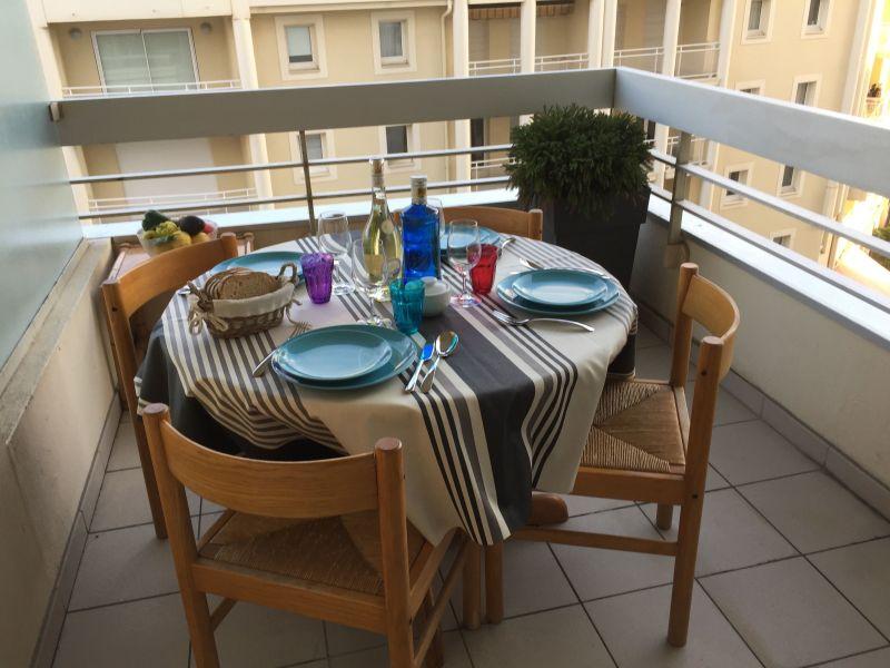 Vue de la terrasse Location Appartement 112838 Biarritz