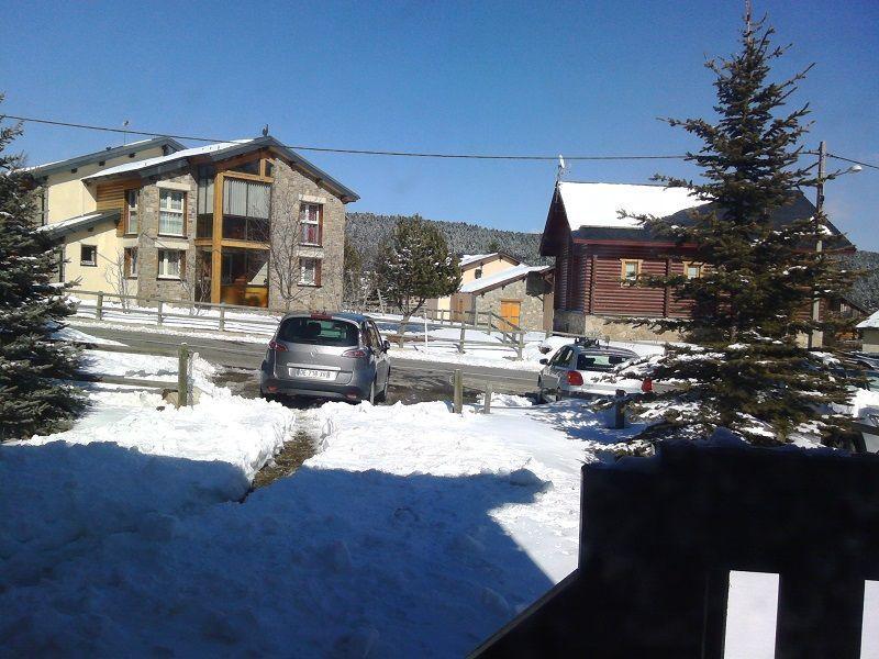 Vue du balcon Location Chalet 116624 Bolquère Pyrenées 2000