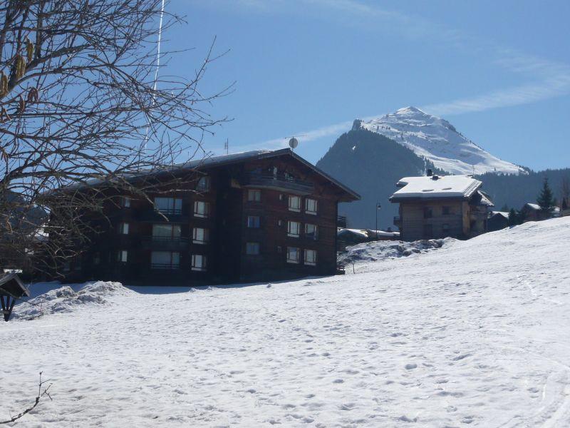 Vue extérieure de la location Location Appartement 66830 Morzine