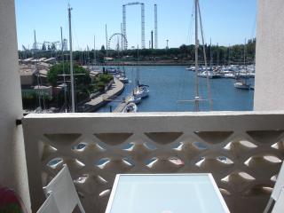 Vue de la terrasse Location Appartement 70263 Cap d'Agde