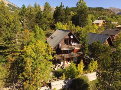 Vue ext�rieure de la location Location Chalet 72610 Val d'Allos