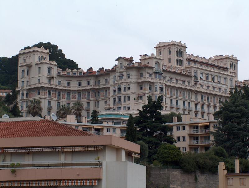 Vue du balcon Location Appartement 77050 Menton