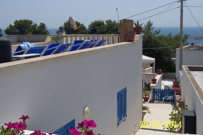 Vue extérieure de la location Location Appartement 77582 Marina di Novaglie