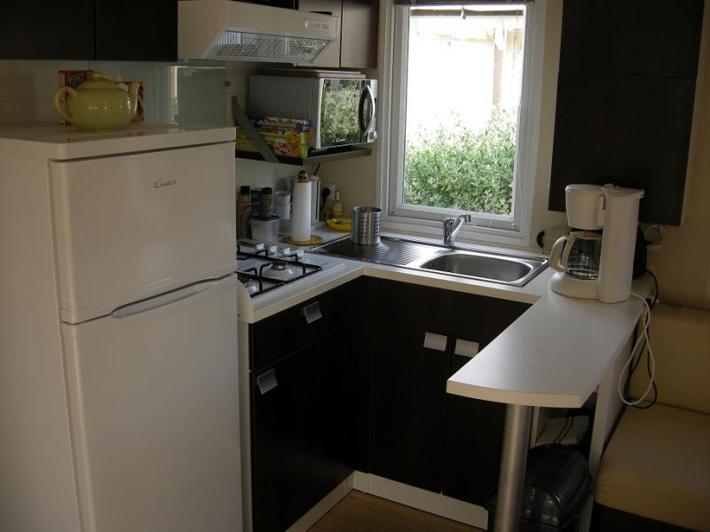 Coin cuisine Location Mobil-home 77840 Hyères
