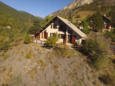 Vue ext�rieure de la location Location Chalet 79776 Val d'Allos