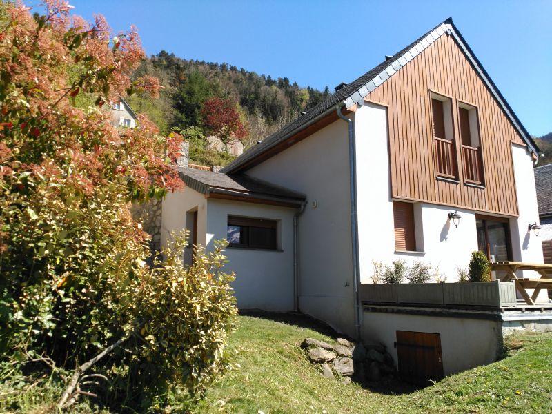Vue extérieure de la location Location Gite 80216 Saint Lary Soulan