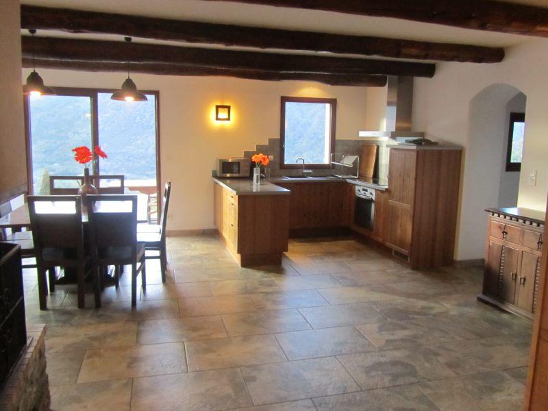 Salle à manger Location Gite 80216 Saint Lary Soulan