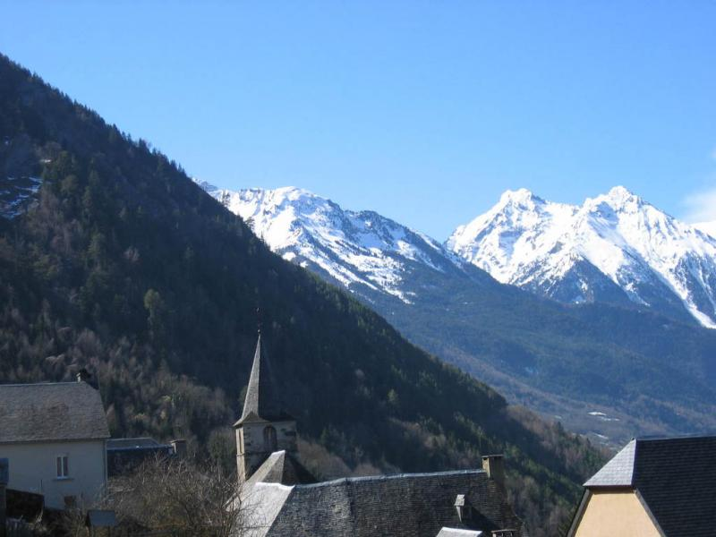 Vue depuis la location Location Gite 80216 Saint Lary Soulan