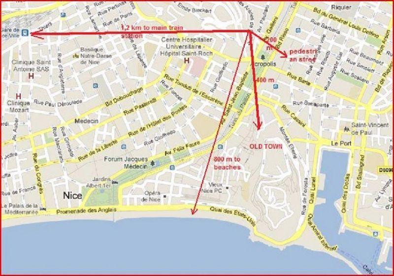 Vue autre Location Appartement 82036 Nice