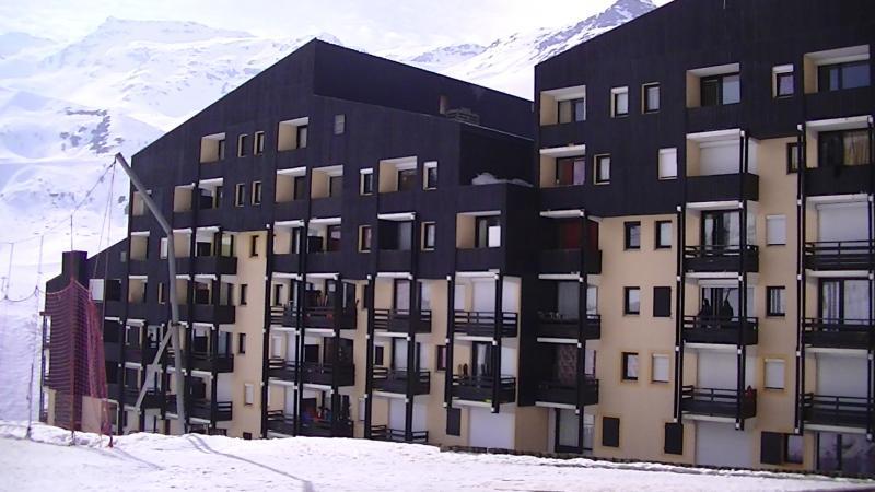 Vue extérieure de la location Location Appartement 84688 Les Menuires