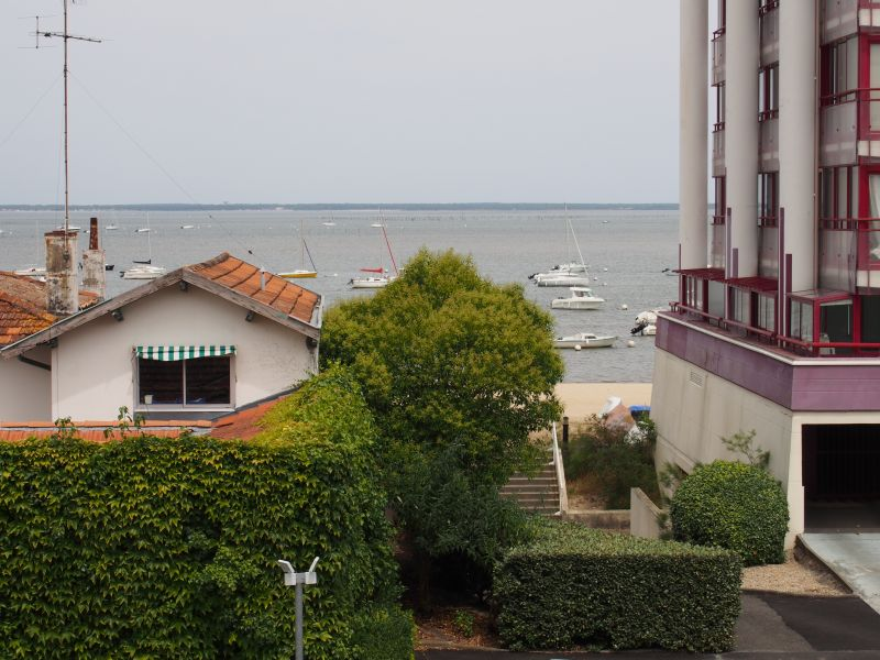 Vue de la terrasse Location Appartement 92451 Arcachon