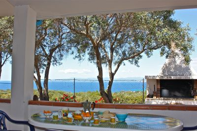 Vue depuis la location Location Maison 93761 Cagliari