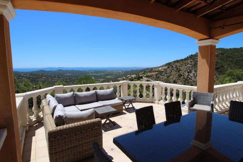 Vue de la terrasse Location Villa 98154 La Londe les Maures