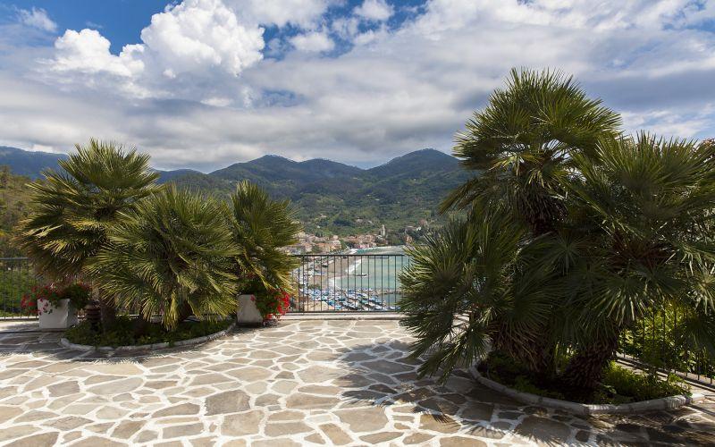Vue de la terrasse Location Villa 100451 Levanto