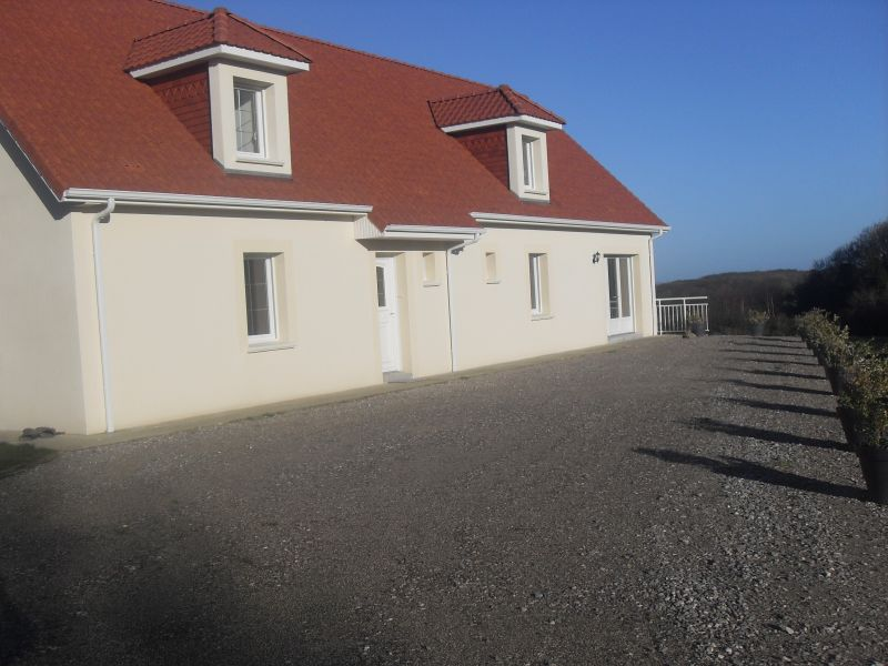 Vue extérieure de la location Location Gite 100930 Wissant