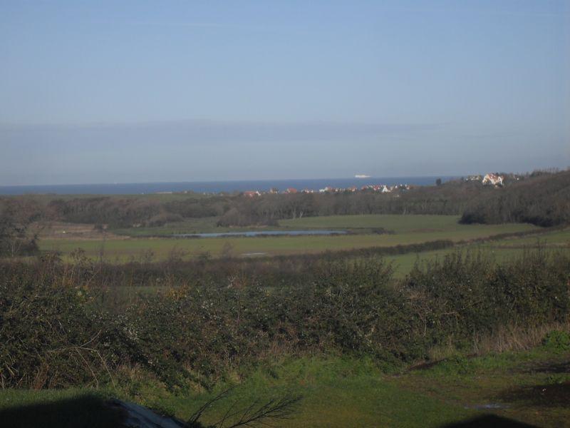 Vue de la terrasse Location Gite 100930 Wissant
