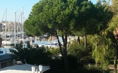 Vue depuis la location Location Studio 107212 Cap d'Agde
