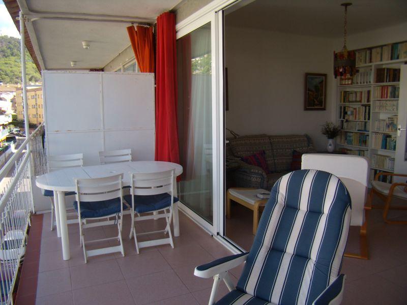 Vue de la terrasse Location Appartement 109158 Tossa de Mar