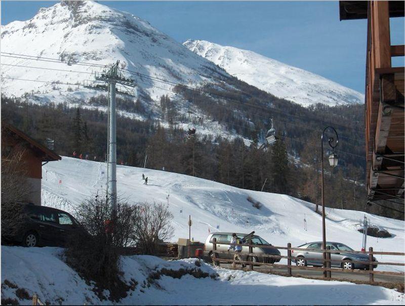 Vue du balcon Location Appartement 109926 Val Cenis