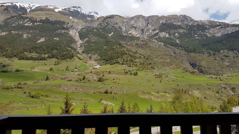 Vue du balcon Location Studio 112907 Val Cenis