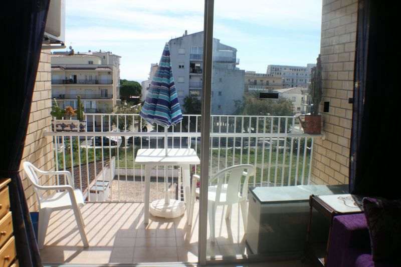 Vue du balcon Location Studio 113254 Rosas