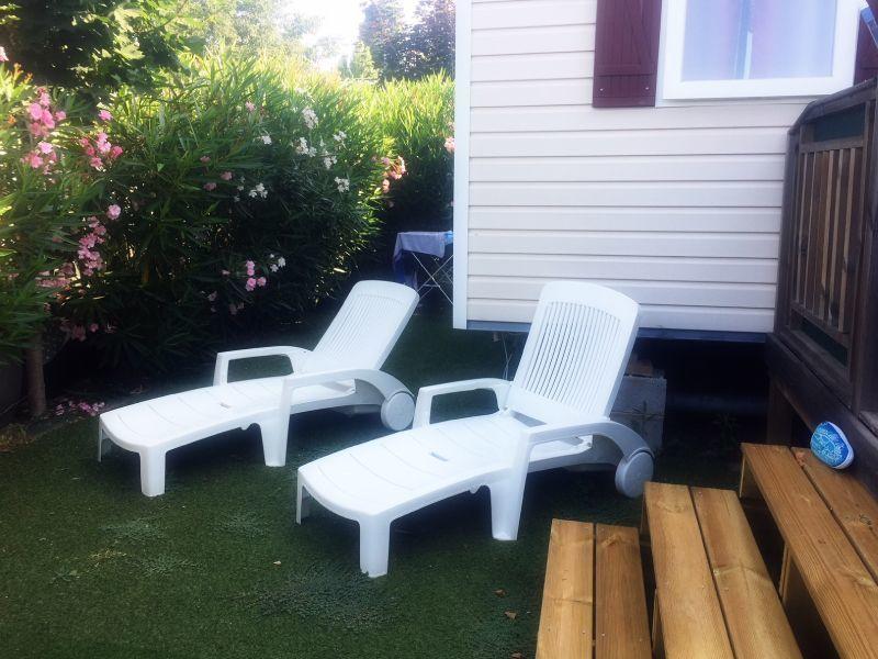Jardin Location Mobil-home 116061 Fréjus